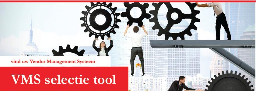 Overzicht van alle VMS leveranciers  / inkoop systemen die actief zijn in Nederlandse markt voor inhuur personeel.