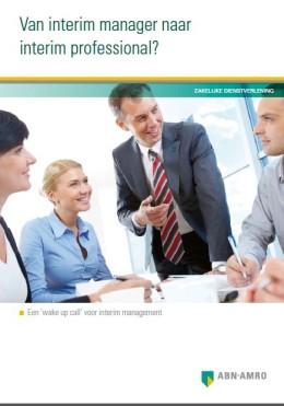 rapport interim management