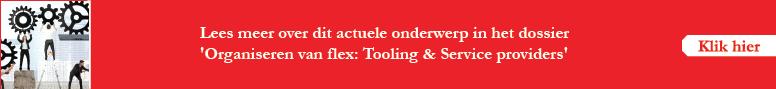 Organiseren van flex tooling en service providers