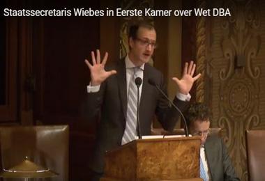 Wiebes geeft in Eerste Kamer meer tekst en uitleg. Ook over begrip kwaadwillenden: I know it when I see it.