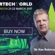 Ken Robinson keynote spreker op HR Tech World. Drie mythes die innovatie tegenhouden.