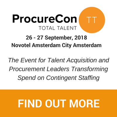 Banner van Procurecon 2018