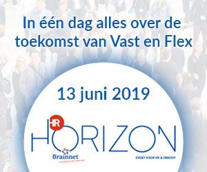 Banner van onze partner HR Horizon