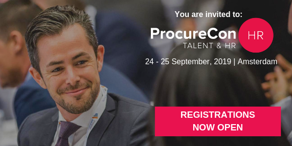 Banner van PRocurecon 2019