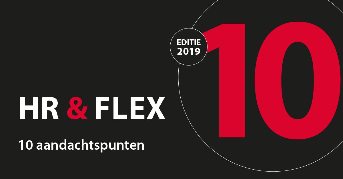 Banner van Compagnon HR en Flex