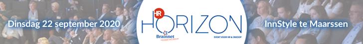 Banner van HR horizon 2020