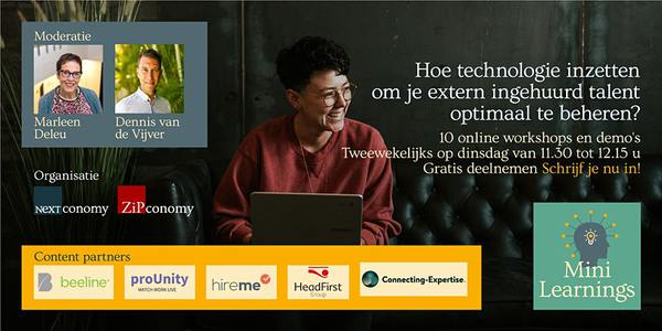 Banner van VMS mini learning