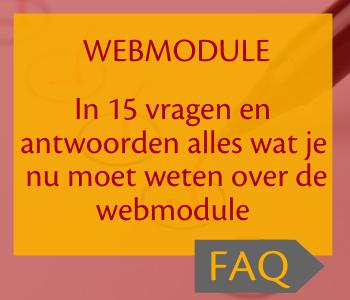 Banner van webmodule